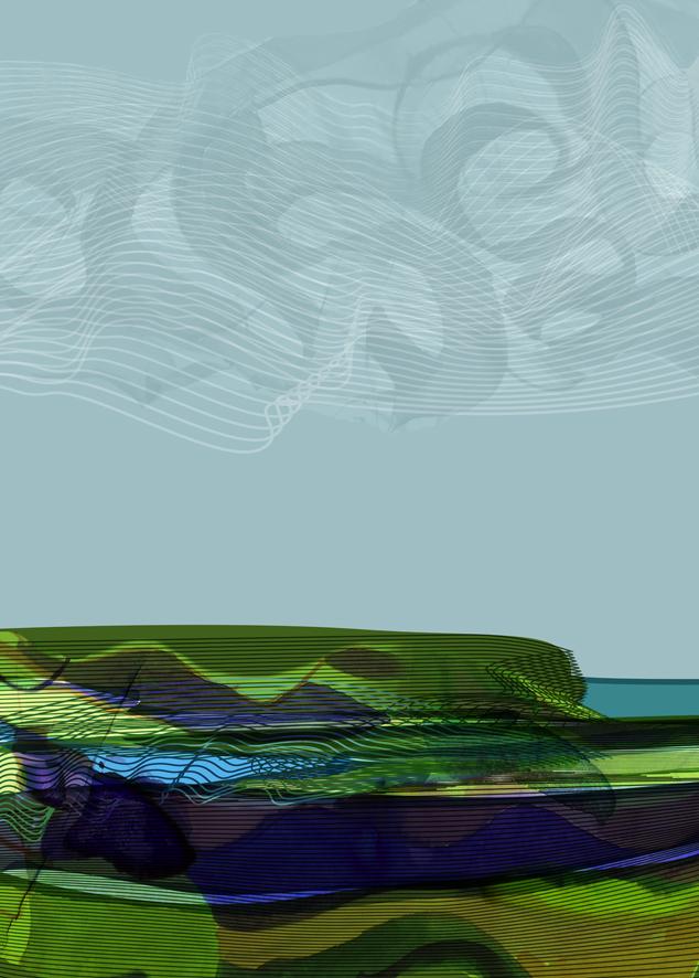 Downland, sky