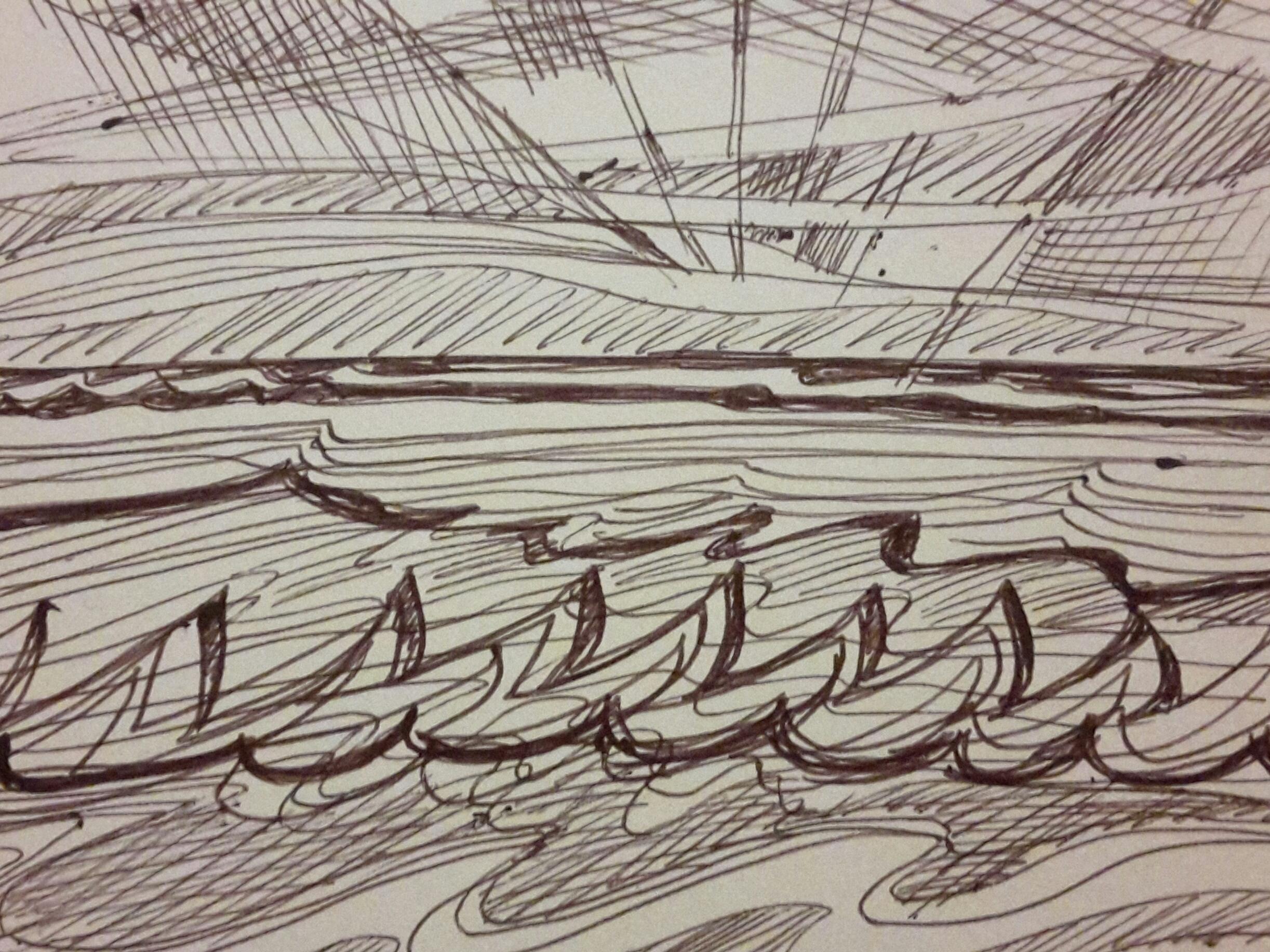 wave sketch
